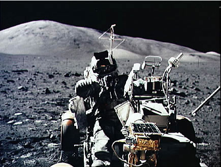 astronaut driving car in space - photo #24