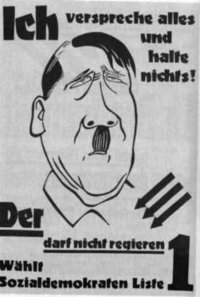what did hitler promise the people Download what did hitler promise germany to come to power hitler's propaganda made people believe that the weimar politicians had stabbed germany in the back.