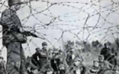 Rhine meadow camps 1945 (part 2) - earth holes - 1 million victims ...