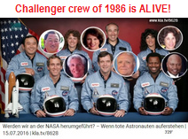 NASA crew of Challenger of Jan. 28,                       1986 is ALIVE!